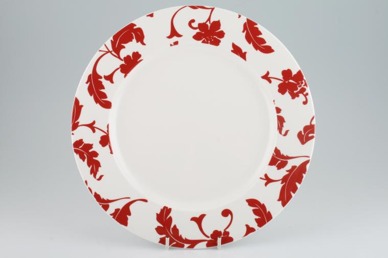 buy marks spencer red damask 3 lines in stock plates bowls tea