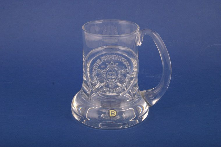 Dartington  - Miscellaneous Drinking - Tankard - Glassware - Commemorative - NSPC Centenary