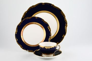 Coalport - Cellini - cobalt blue