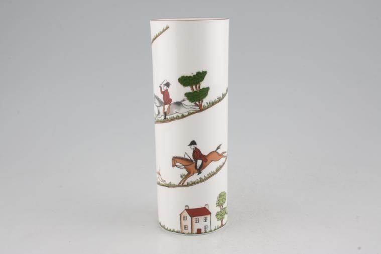 No obligation search for Coalport - Hunting Scene - Vase