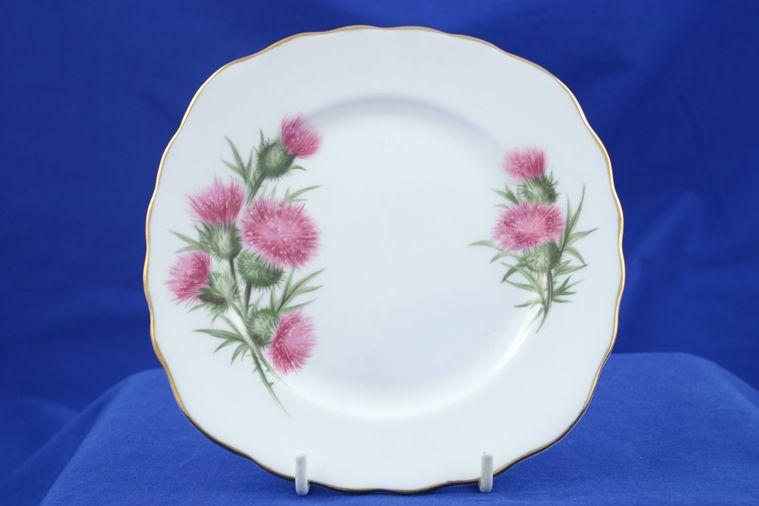Colclough - Thistle - 7608 - Tea / Side / Bread & Butter Plate