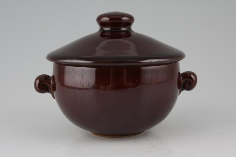 Bourne - Homestead Brown - Lidded Soup - lugged