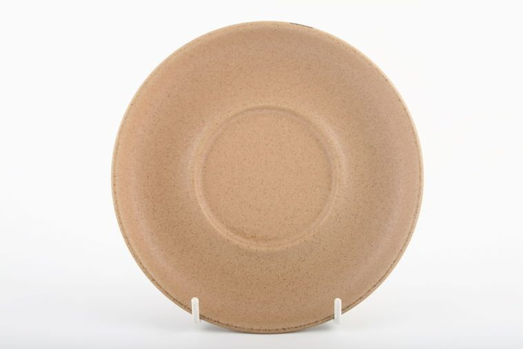 Denby - Cotswold - Sauce Boat Stand - Same as Breakfast saucer.