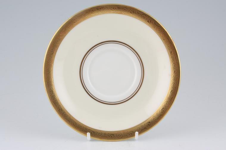 Aynsley - Helene - gold, cream, white - Tea Saucer