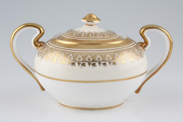 Aynsley - Champagne - Sugar Bowl - Lidded (Tea) - 2 handles