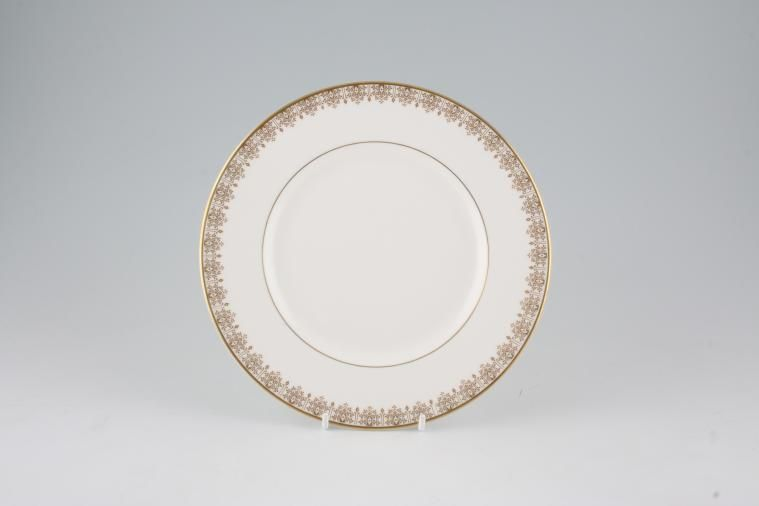 Royal Doulton - Gold Lace - H4989 - Starter / Salad / Dessert Plate