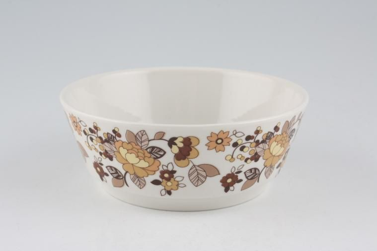 Royal Doulton - Indian Summer - T.C.1099 - Fruit Saucer - See also Forest Flower