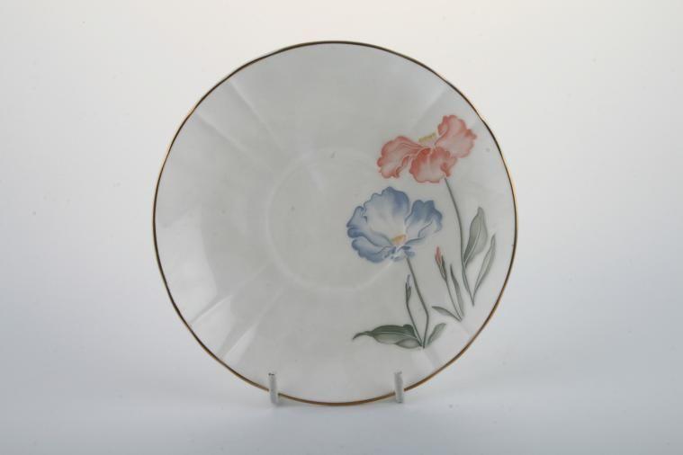 Royal Stafford - Ice Poppy - Tea Saucer - For footed teacup