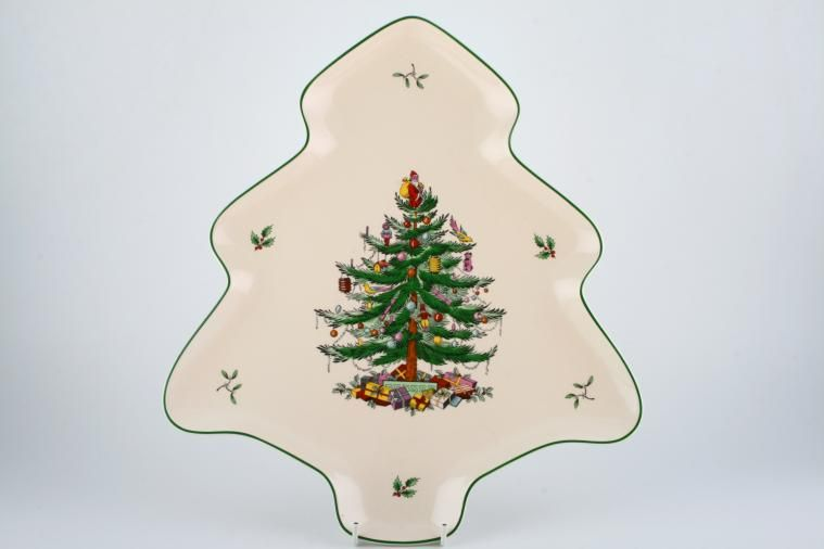 Serving Dish Christmas Tree - S3324 by Spode