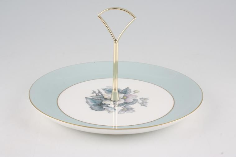 Various - Cake Stands - Cake Stand - 83 - 1 Tier - Royal Worcester - Woodland 9 1/4
