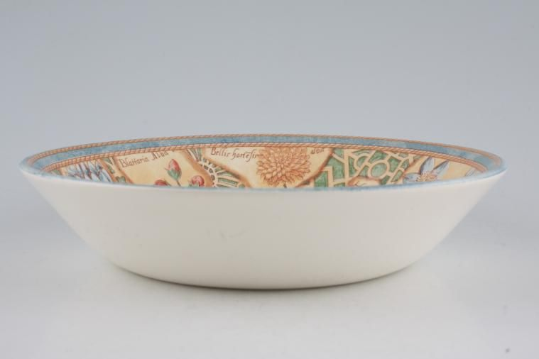 Wedgwood - Garden Maze - Oatmeal / Cereal / Soup - Shallow